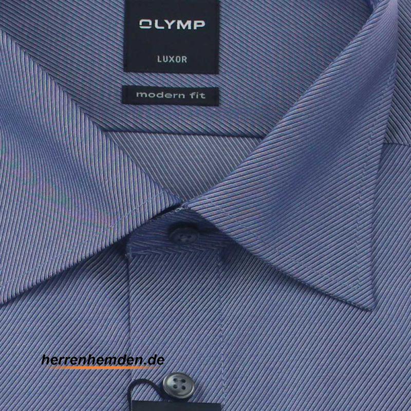 olymp luxor hemd modern fit diagonalstreifen uni langarm 49 95 euro. Black Bedroom Furniture Sets. Home Design Ideas