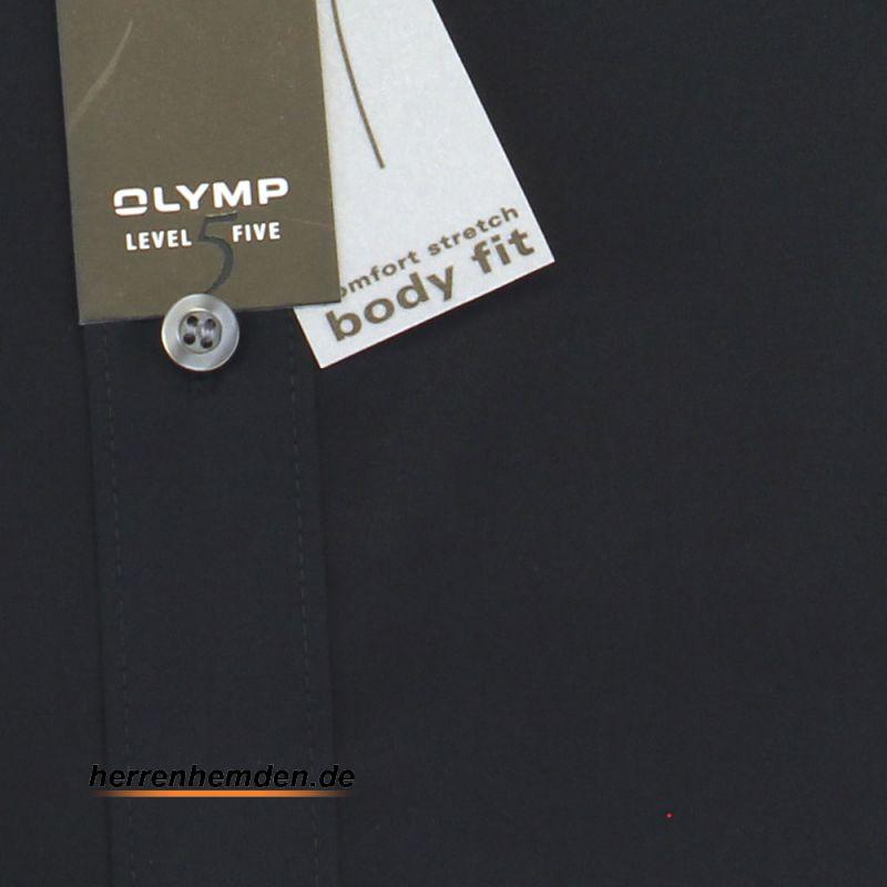 olymp hemd level five body fit uni langarm 6090 64 68 olymp hemden. Black Bedroom Furniture Sets. Home Design Ideas