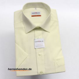 MARVELIS Comfort Fit Men´s Shirt one colour short sleeve...