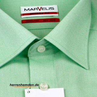 Marvelis Hemd Modern Fit Chambray Kurzarm (4704-12-46e)