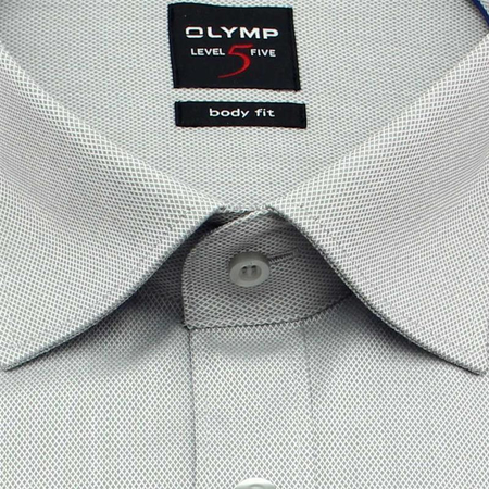 OLYMP Hemd Level Five BODY FIT DIAMANT TWILL Langarm (0464-64-62)