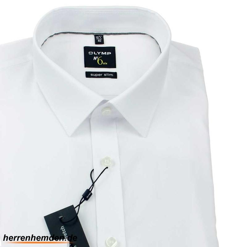 b298410f1 OLYMP No SIX super slim Uni camisa para hombres mangas largas - con ...