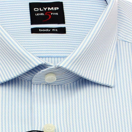 OLYMP Hemd Level Five BODY FIT DIAMANT TWILL Langarm