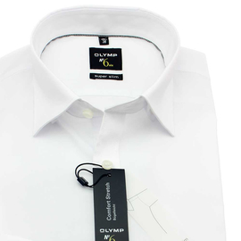 OLYMP Hemd No SIX super slim Uni Langarm, Under-Button-Down