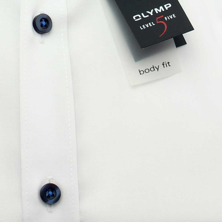 OLYMP Hemd Level Five BODY FIT Chambray Langarm