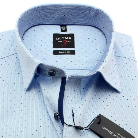 online store bf696 fb4cb OLYMP Hemd Level Five BODY FIT Uni gepunktet Langarm, 50,92 €