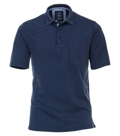 REDMOND poloshirt wash & wear with breast pocket, shorts...