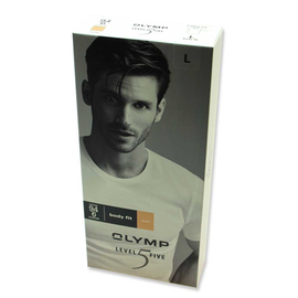 OLYMP T-Shirt LEVEL FIVE  body fit UNSICHTBAR mit...