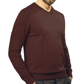 MARVELIS pullover with V-Neck, longsleeve