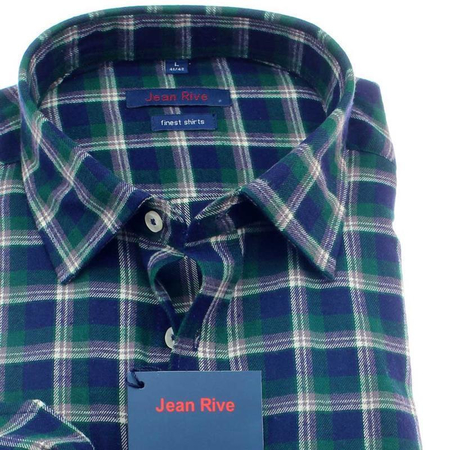 55685878d8e68 Jean Rive Flanell Uni camisa para hombres mangas largas ...