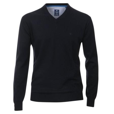 Pull homme, col en V, marque REDMOND, pur coton, 34,99 € baf41538f386