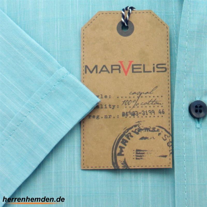 MARVELIS Hemd CASUAL leinen struktur halbarm, 34,90 €