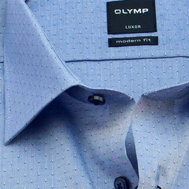OLYMP LUXOR Men`s Shirt MODERN FIT structure long sleeve