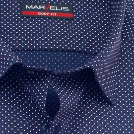 MARVELIS Shirt BODY FIT print short sleeve