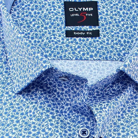 OLYMP Shirt Level Five BODY FIT short sleeve