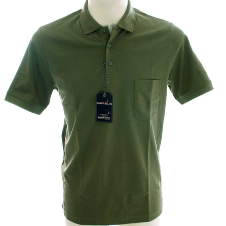 MARVELIS Quick-dry functional poloshirt short sleeve with breast pocket