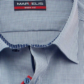 MARVELIS Shirt BODY FIT vichy checks long sleeve