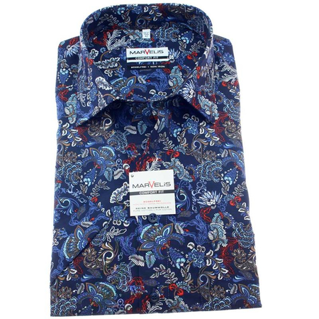 MARVELIS Men`s Shirt COMFORT FIT short sleeve