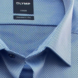 OLYMP LUXOR Men`s Shirt MODERN FIT jacquard long sleeve