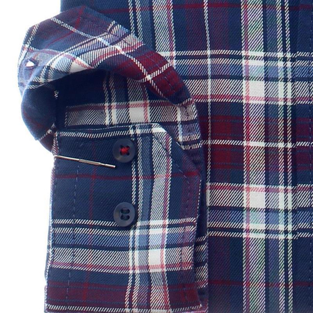 MARVELIS CASUAL Men`s Shirt checks long sleeve
