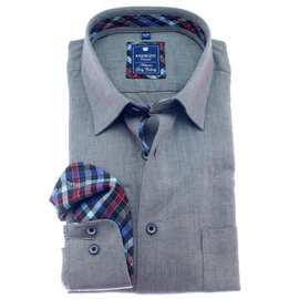 REDMOND Shirt REGULAR FIT long sleeve, flanell