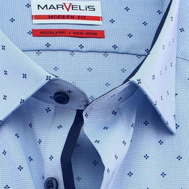 MARVELIS Men`s shirt MODERN FIT long sleeve