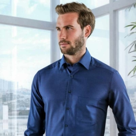 Marvelis Hemd Chambray Langarm